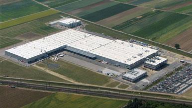 Neubau einer Industrieanlage für Straßenfertiger